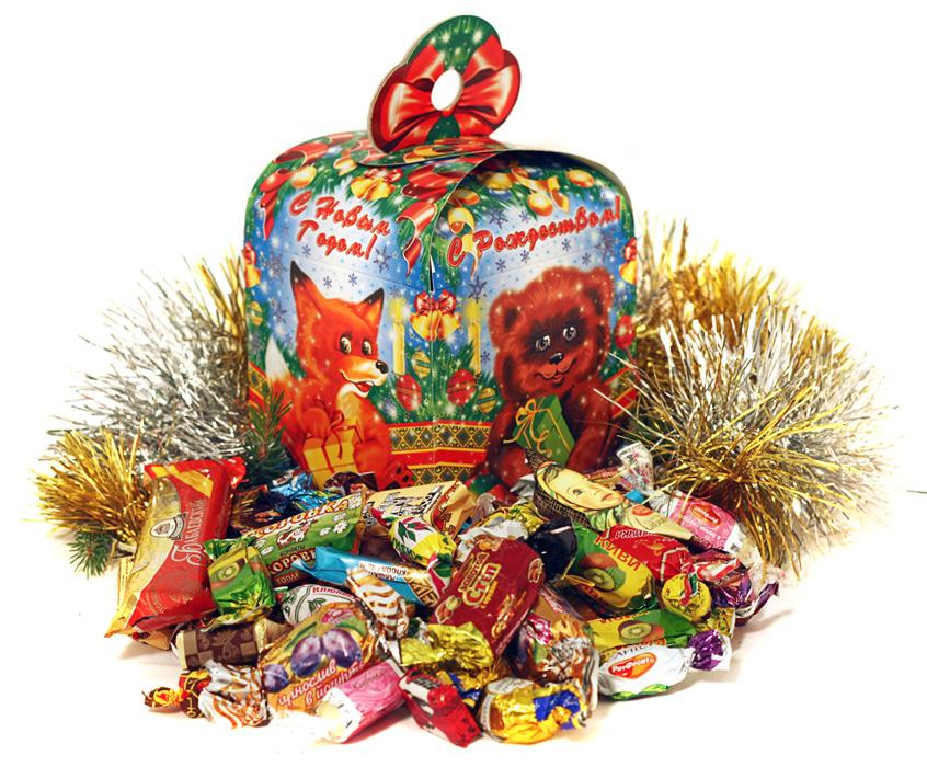 Новогодние подарки в картинках для детей 26